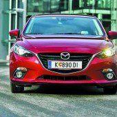 Mazda legt kräftig zu