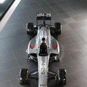 McLaren stellte neues Auto vor