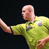 Michael van Gerwen schockte die Darts-Elite