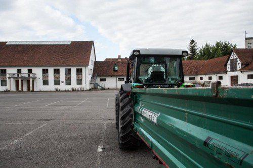 Das neue Landwirtschaftskammer-Gebäude soll beim bestehenden Viehmarktplatz entstehen. Foto: VN/Steurer
