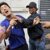 Protest-Anführer in Thailand getötet