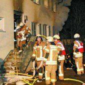 Wohnhaus nach Brand evakuiert
