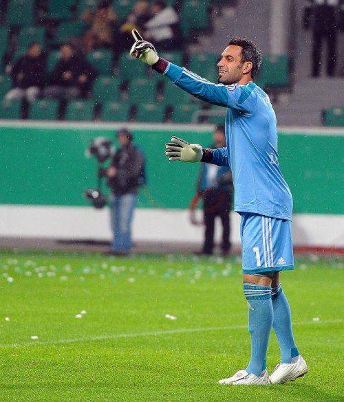 ÖFB-Keeper Ramazan Özcan spielt für Ingolstadt. Foto: gepa