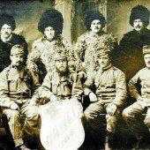 100 Jahre alte Post aus russischer Gefangenschaft