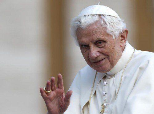 Öffentliche Auftritte Benedikts sind nach seinem Rücktritt selten geworden. AP