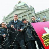 Schweizer Sozialdemokraten wettern gegen Abschottungsinitiative