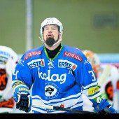 Markus Peintner mit Schmerzen