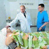 Putin droht Terroristen mit völliger Vernichtung