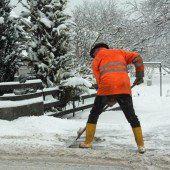 3748 Schneeschaufeln für die Vogewosi-Mieter