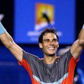 Nadal verhindert Schweizer Finale
