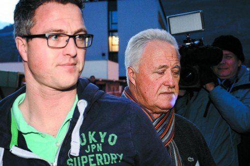 Ralf Schumacher steht Bruder Michael bei. Foto: apa