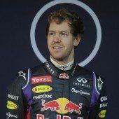 Vettels Wagen bockte auch am zweiten Testtag
