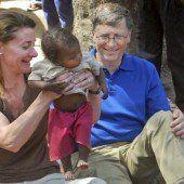 Eine Welt ohne Armut ist für Gates keine Utopie