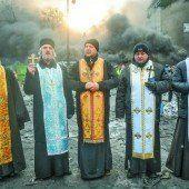 An Kippe zu Bürgerkrieg gibt Janukowitsch nach