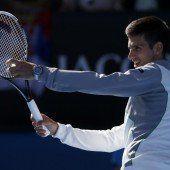 Novak Djokovic imitierte Becker-Aufschlag