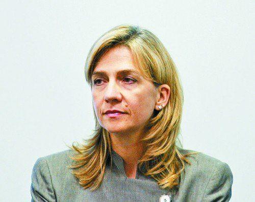 Spaniens Prinzessin Cristina wegen Betrugs angeklagt. Foto: EPA