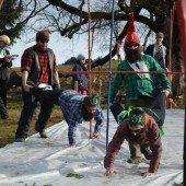 Skirennen ohne Schnee brachte 7500 Euro