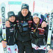 Antonia Walch gewann Riesentorlauf in Brand