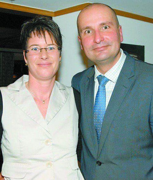 Unter den Gästen: Heidi und Dirk Urban.