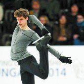 Viktor Pfeifer nach Teil eins der EM auf Rang 16
