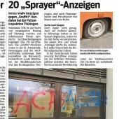 Graffiti-Vandalen wurden ausgeforscht