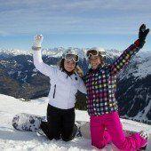 Sonne, Schnee und Wintersport