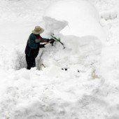 Japan im Schneechaos