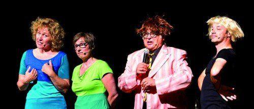 An sieben Terminen ist im Februar im Lindauer Club Vaudeville Mitdenken angesagt, wenn die legendäre Kabarettgruppe zum neuen Programm einlädt. foto: kunststück