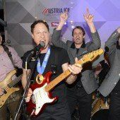 Gruber rockte bei Olympia-Party