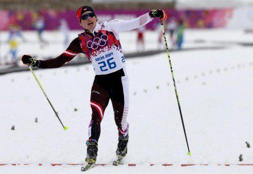 Bernhard Tritscher konnte im Sprint voll überzeugen. Foto: gepa
