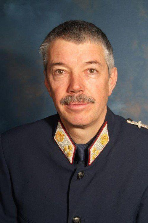 Chefinspektor Egon Puschnigg.  FOTO: POLIZEI