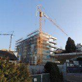 Wohnanlage in Bregenz wächst in die Höhe