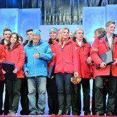 Olympia-Stars groß gefeiert