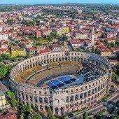 Amphitheater für Konzerte