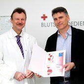Gewinnspiel als Dankeschön für Blutspender