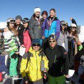 Heiße Duelle auf dem Snowboard