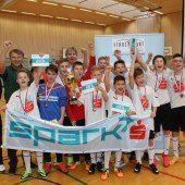 PG Mehrerau holt sich den Futsal-Hallencup