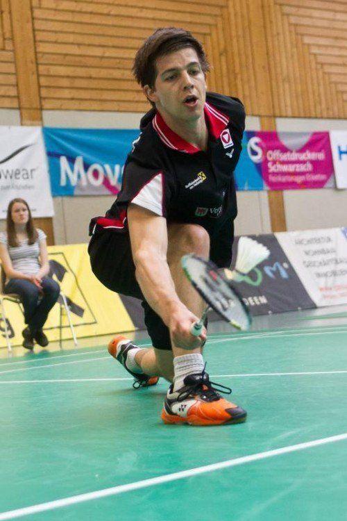David Obernosterer nimmt aktuell Position 87 in der Welt- und Platz 49 in der Europarangliste ein. Foto: steurer