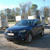 Fahrzeug der Premiumclass im Stadtgebiet Lindau sichergestellt