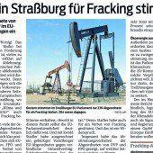 Widerstand gegen Fracking wächst