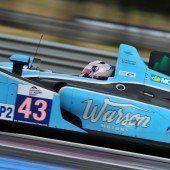 Klien startet in Le-Mans