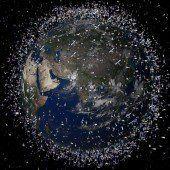 Weltraum-Müllabfuhr wird dringend gesucht