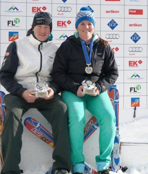 Die Dornbirnerin Stefanie Klocker mit der EM-Medaille. Foto: privat