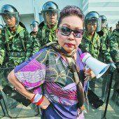 Regierungsbüro belagert