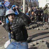 Gewalt in Kiew eskaliert