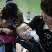 Dichter Smog raubt den Chinesen den Atem