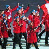 Putins Party in Sotschi eröffnet Stecher trug Österreichs Fahne /C1