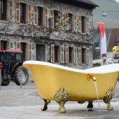 Badewanne soll Touristen anlocken