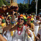 Vorfreude auf brasilianischen Karneval
