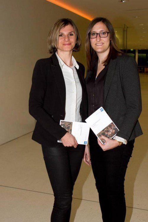 Evelin Reimair (L) u. Julia Hagen (Hypo) Fotos: Franc